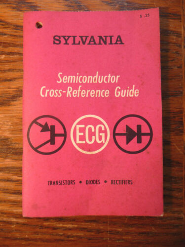 Vintage SYLVANIA Semiconductor Cross-Reference Guide