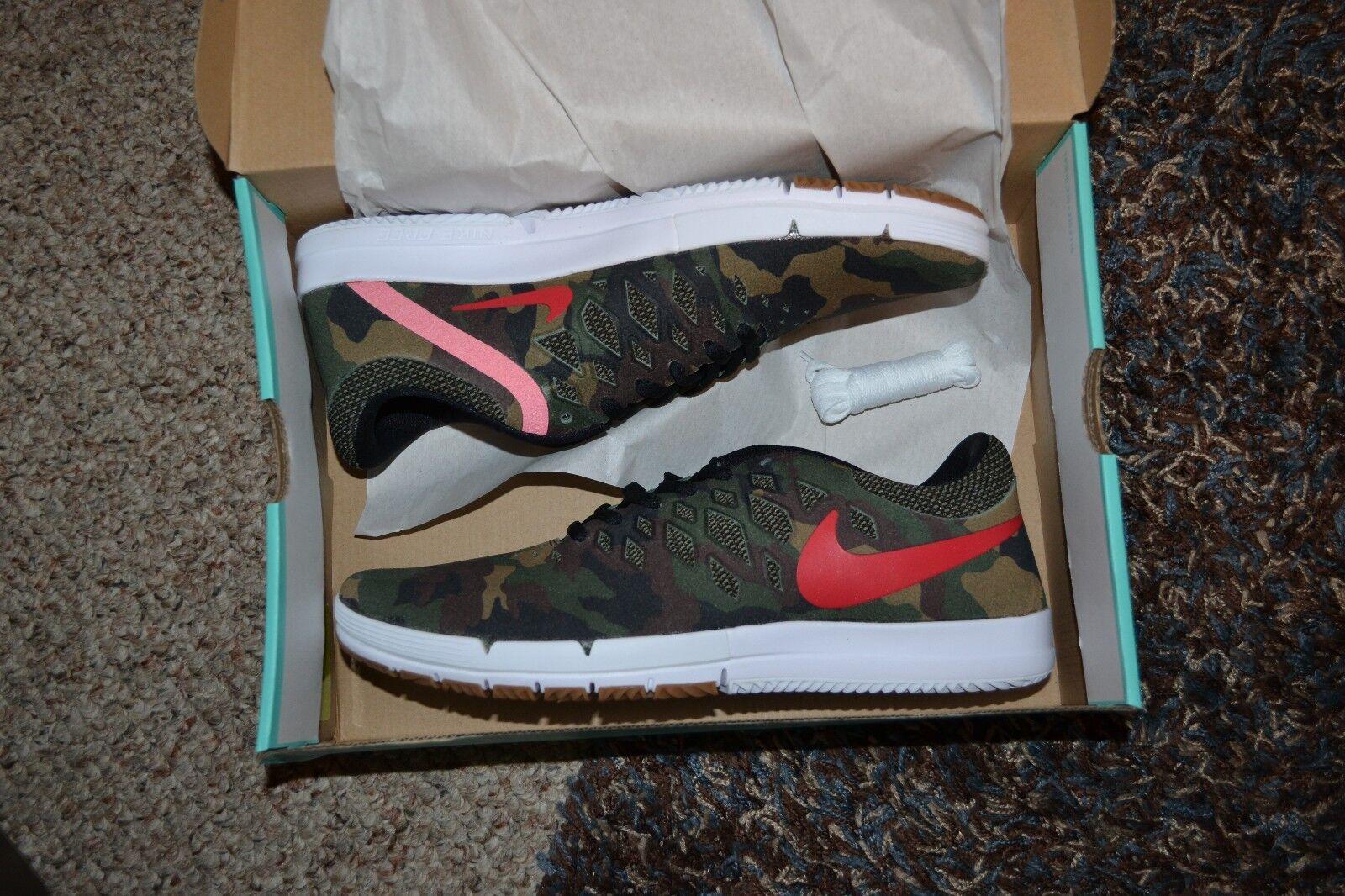 new styles bb46b e8304 lovely Nike Free SB QS Rose City Camo Skateboarding Shoes 749677 360 New  Mens ALL