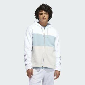 Men-039-s-adidas-Hoodie-White-DV3143