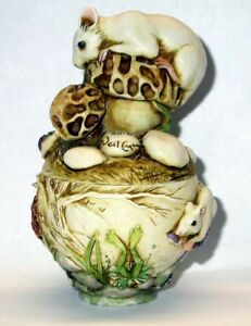 Harmony-Kingdom-Ar-Neil-Eyre-Designs-Mouse-frog-mushroom-butterfly-dragonfly-box