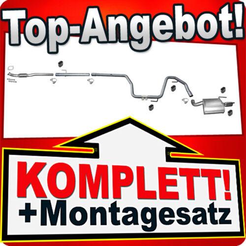 Auspuff ALFA ROMEO 159 2.0 JTDM Stufenheck Kombi 2009-2011 Auspuffanlage M81
