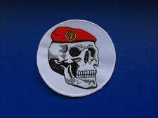 insigne tissu militaire armée écusson patch Commandos Parachutistes tête de mort