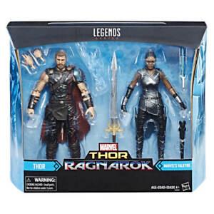 "2017 Marvel Legends Ragnarok Thor & Valkyrie 6"" Figure 2-Pack NEW In Hand"