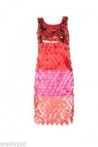 APART-Glamour-Kleid-Cocktailkleid-in-multicolor-in-Rot-in-Gr-40-NEU