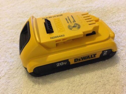 New Dewalt DCB203 20V Max  Battery 2.0Ah Lithium Ion Li-Ion 20 Volt