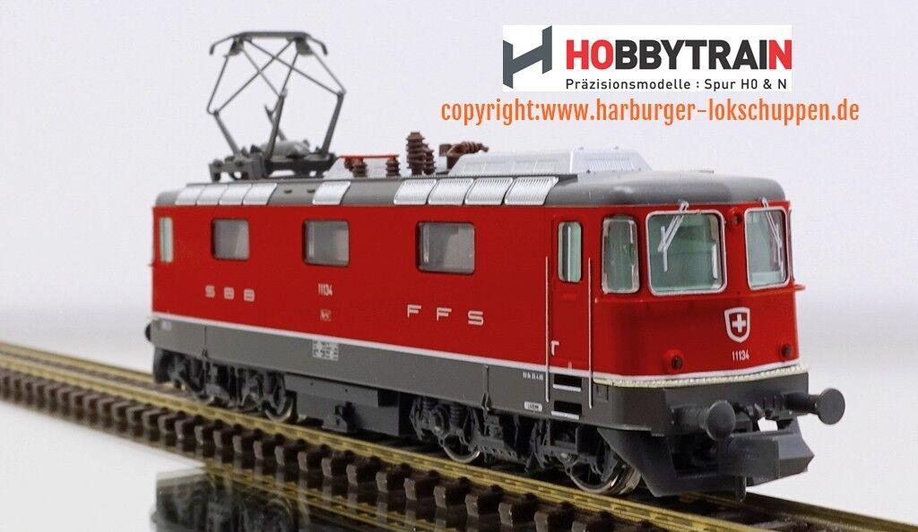 N-Hobbytrain h3021 h3021 h3021 HOBBYTRAIN E-Lok re4 4 II SBB serie 1., rosso, ep. III IV + DSS 6241fb