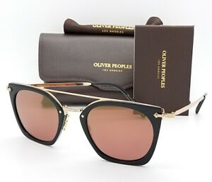 NEW-Oliver-Peoples-sunglasses-Dacette-OV5370S-1005E4-Gold-Rose-Burgundy-GENUINE