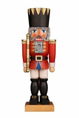 Christian Ulbricht Extra Large Red King German Nutcracker New In Box 28 Ebay