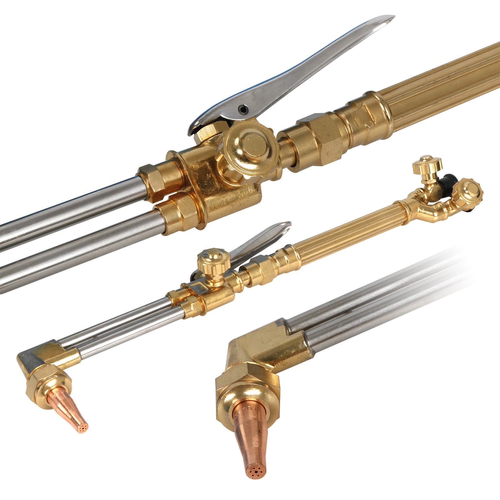 90 Degree Head Oxweld Compatible Tested in The USA Acetylene 27 Length FlameTech 6427-A90 Heavy Duty Hand Cutting Torch