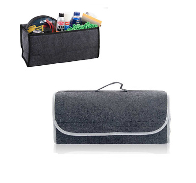 2x Sakura SS5233 Car Van Caravan Motorhome Grey Carpet Boot Organiser Storage Ba