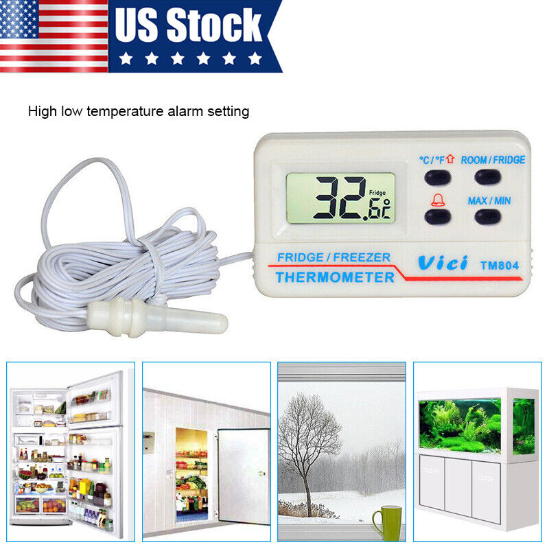 6 Funksensoren 2 LCD Displays Funk Thermometer FT0075 TWIN
