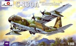Amodel-1437-1-144-C-130A-Hercules-Aircarft-scale-plastic-model-kit