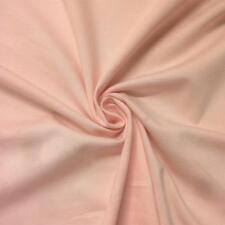 """Peach Ponte De Roma Stretch Knit Fabric 60"""" Rayon Nylon Spandex Soft BTY"""