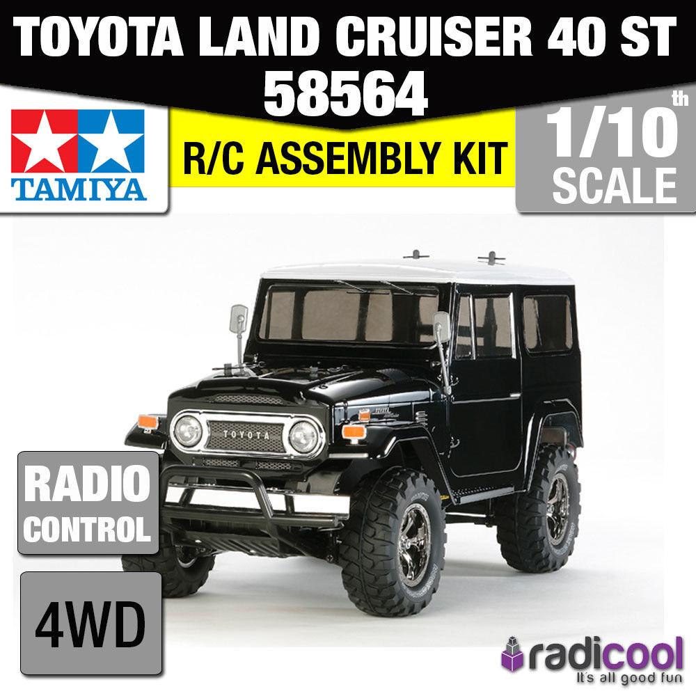 58564 TAMIYA TOYOTA CRUISER 40 LAND CC-01 1/10th custom ST R/C Radiocomando