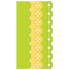 SPELLBINDERS EDGEABILITIES CLASSIC POSTAGE STAMP EDGE DIES - CUT EMBOSS E8-005
