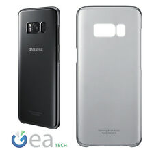 Custodia CLEAR COVER Originale Samsung Per Galaxy S8+ PLUS G955 Trasparente Nera