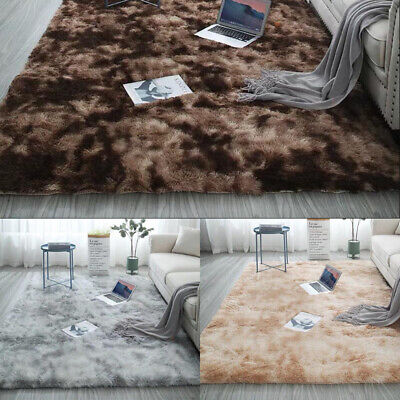Modern Soft Cosy Shaggy Rugs Soft Thick Furry Polyeste Living Room Rug Floor Mat