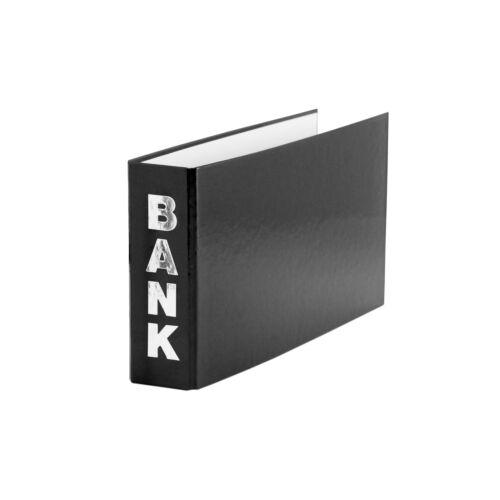 schwarz Bankordner 140x250mm Farbe für Kontoauszüge