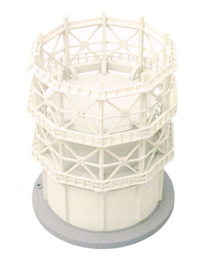 Tomytec (Komono 099) Manufacturing Plant G (Cylindrical Gas Tank) 1/150 N scale