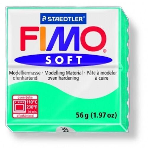 PANETTO PASTA MODELLABILE FIMO SOFT STAEDTLER 56 GRAMMI COLORE A SCELTA