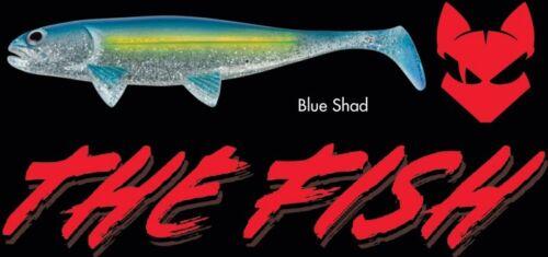 Jackson The Fish Gummifische 10cm 8cm 12,5cm und 15cm in 10 Farben verfügbar