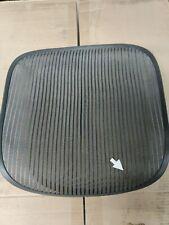Herman Miller Aeron Chair Seat Mesh Grey Pellicle With Blemish Size B 512