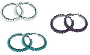 Beaded-hooped-earrings-bling-jewellery-lever-back-fastening-bargain
