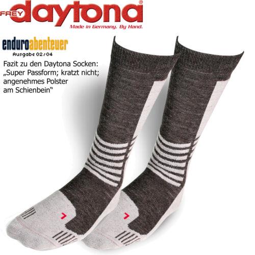 Daytona Socken Trans Tex Transtex kurz schwarz-grau Gr 41-43