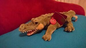 Details zu Plüschtier Krokodil Alligator Kuscheltier Keel Toys, Dschungel Stofftier ca.45cm