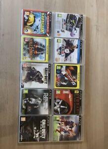 lot de 10 jeux ps3