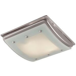 Bathroom 100-CFM Exhaust Fan Light Ceiling Mount Bath Air ...
