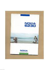 Original Nokia 6230i 6230 i Bedienungsanleitung Deutsch Anleitung Handy Phone