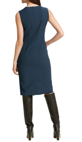 Gr 42 0318022879 40 Marken Kleid 2 in 1 mit modischer Silhouette petrol Gr