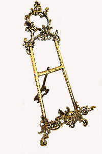Solid Brass Decorative Brass Easel 21 ~ Picture Stand ~ Display Stand Periods/Styles