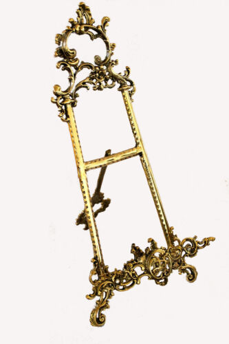 Solid Brass Decorative Brass Easel 21 ~ Picture Stand ~ Display Stand