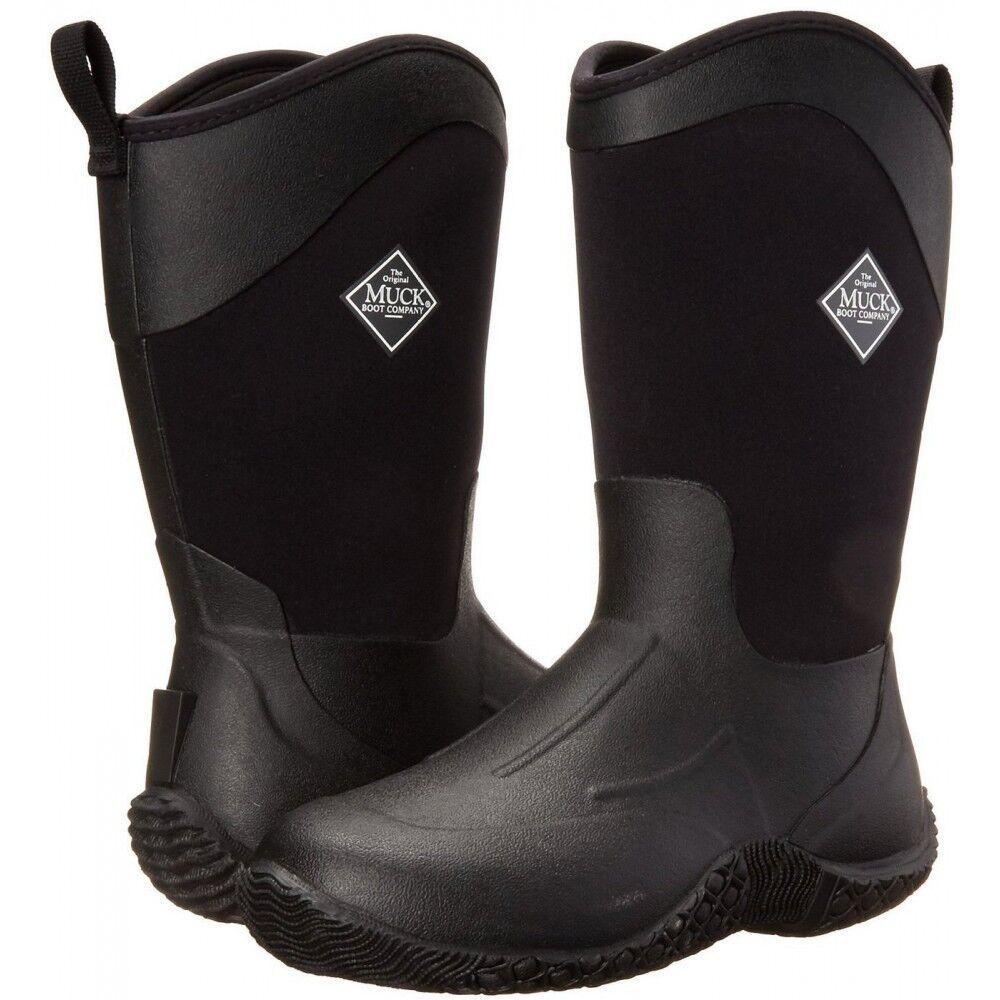 Muck Boots Company Women's TACK II MID EQUESTRIAN WORK, BLACK, Neoprene Rubber