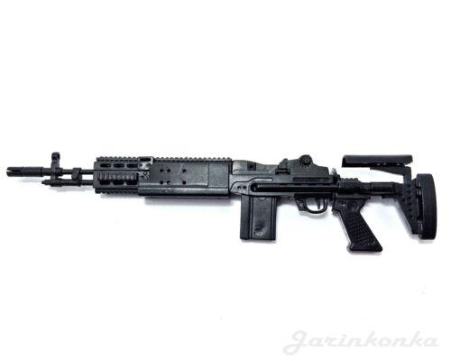 1//6 Scale M14 EBR Enhanced Battle Rifle US Army Gun Model GI JOE Action Figure