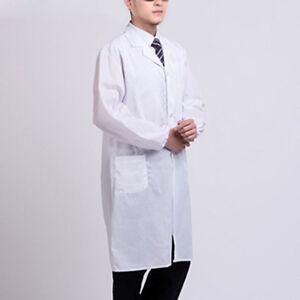 new concept 0e594 e028a Details zu Sommer Laborkittel Kurzarm Taschen Uniform Arbeitskleidung Arzt  Krankenschwester