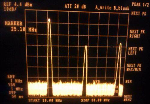 2 MHZ 55 MHZ 5 w ultra broadband rf amplifier  linear amplifier 37 db