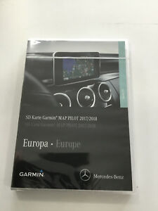 mercedes benz garmin map pilot f r navigation audio 20 cd. Black Bedroom Furniture Sets. Home Design Ideas