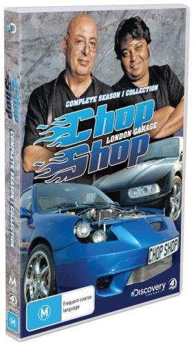 1 of 1 - Chop Shop London Garage : Season 1 (DVD, 2010, 4-Disc Set)