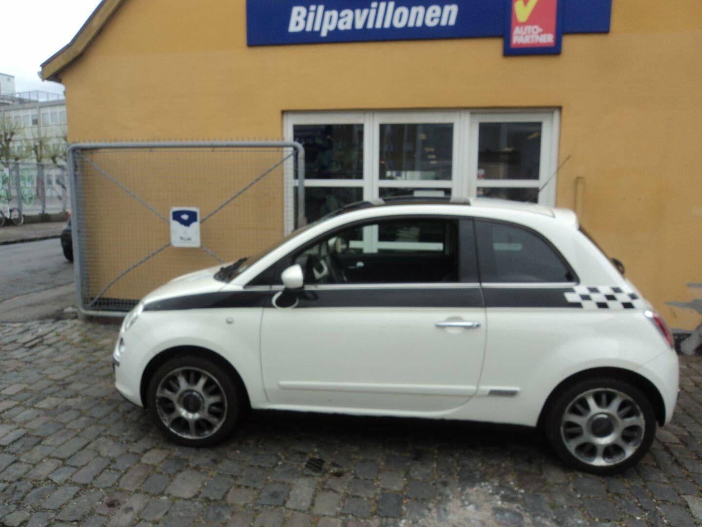 Fiat 500 1,2 Lounge 3d - 34.900 kr.