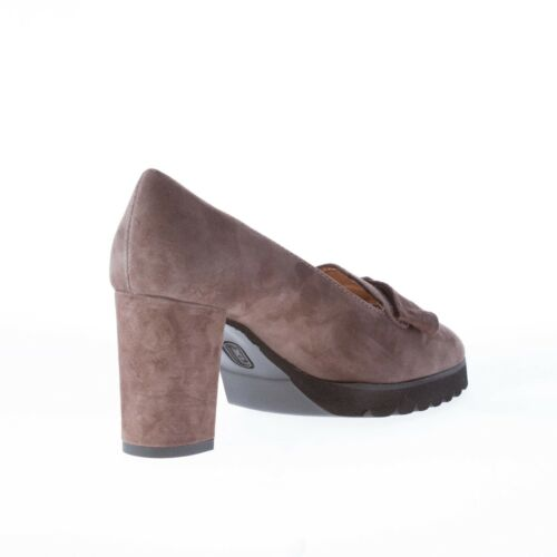 In Daim Chaussures Firenze Italy Marron Made Escarpin Femme En Il Borgo Tw6XxzqF