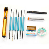 Desoldering Pump Sywon Iron Soldering Parts Welding Aid Kit Diy Tools