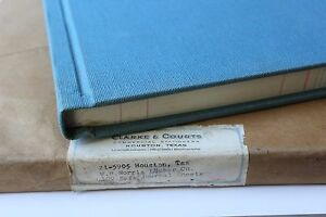 MID-CENTURY-CLARKE-amp-COURTS-HOUSTON-LEGAL-4-COLUMN-BUSINESS-ACCCOUNTING-LEDGERS