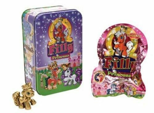 New, Filly Princess Collector Tin Pink , 3 Horse in Total