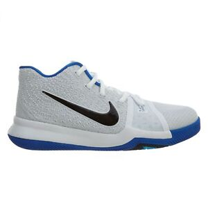 promo code e53ca 2f896 Details about Nike Kyrie 3 Little Kids 869985-102 White Hyper Cobalt Shoes  Youth Size 10.5