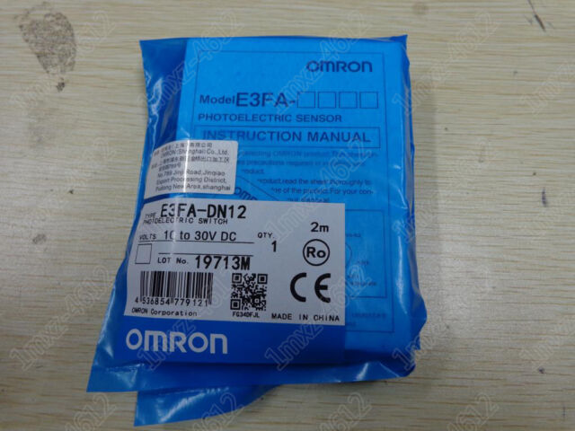1pc new Omron photoelectric switch E3FA-DN12   #t8
