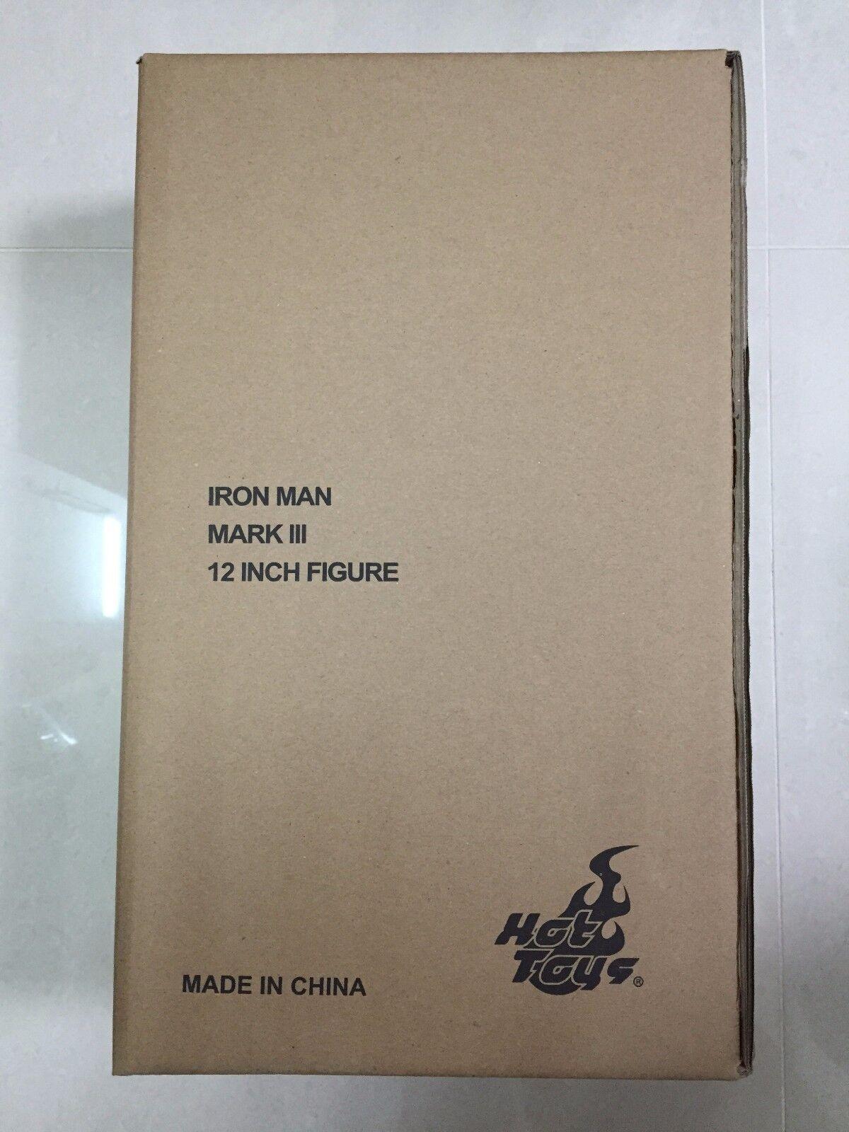 Hot Toys MMS 256 D07 Iron Man Mark 3 iii Diecast Tony Stark  Normal Version  NEW