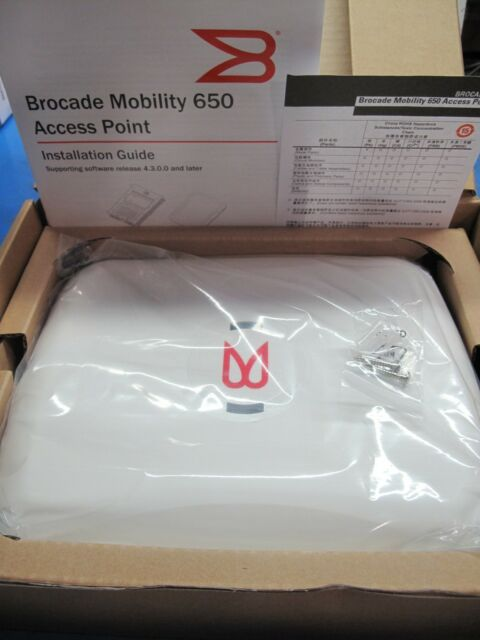 BROCADE BR-AP065060020WW MOBILITY WIRELESS ACCESS POINT 650 SERIES
